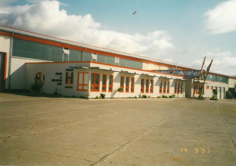 Historie Firmengebäude