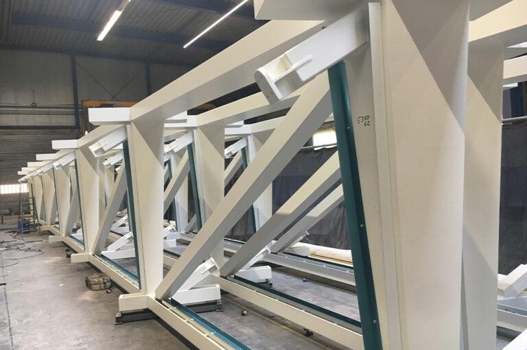 Stahlbau Fachwerkträger