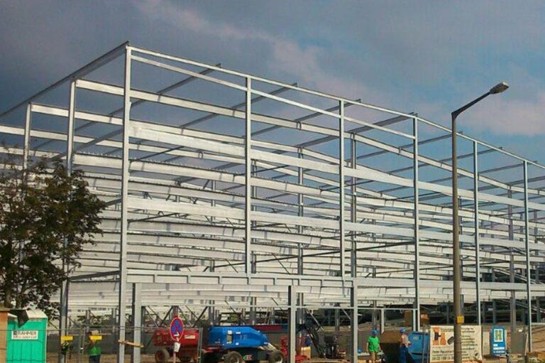 Stahlbau Parkhäuser