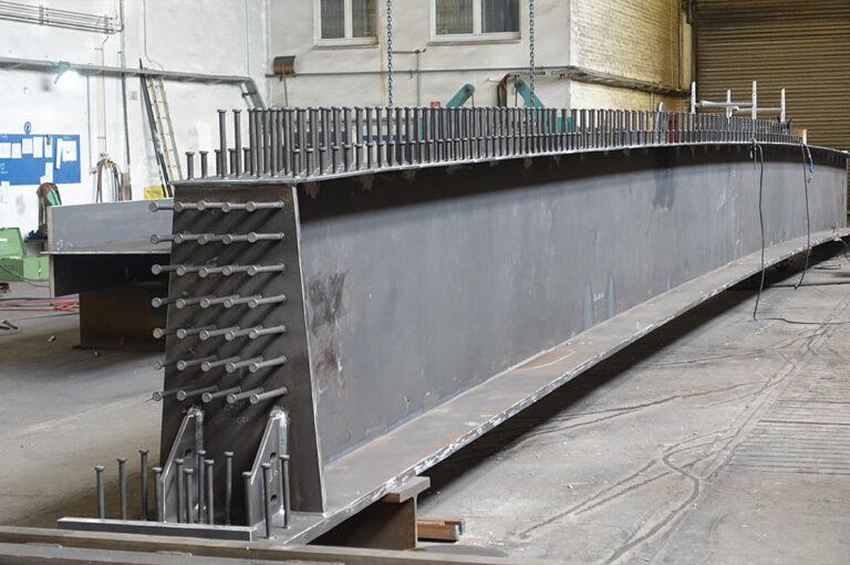 Stahlbau Stahlverbundträger